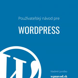 WORDPRESS NÁVOD v PDF